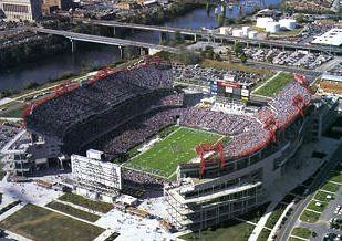 Adelphia Coliseum Tennessee Titans Tennessee Titans Tennessee Titans Football Titans Football