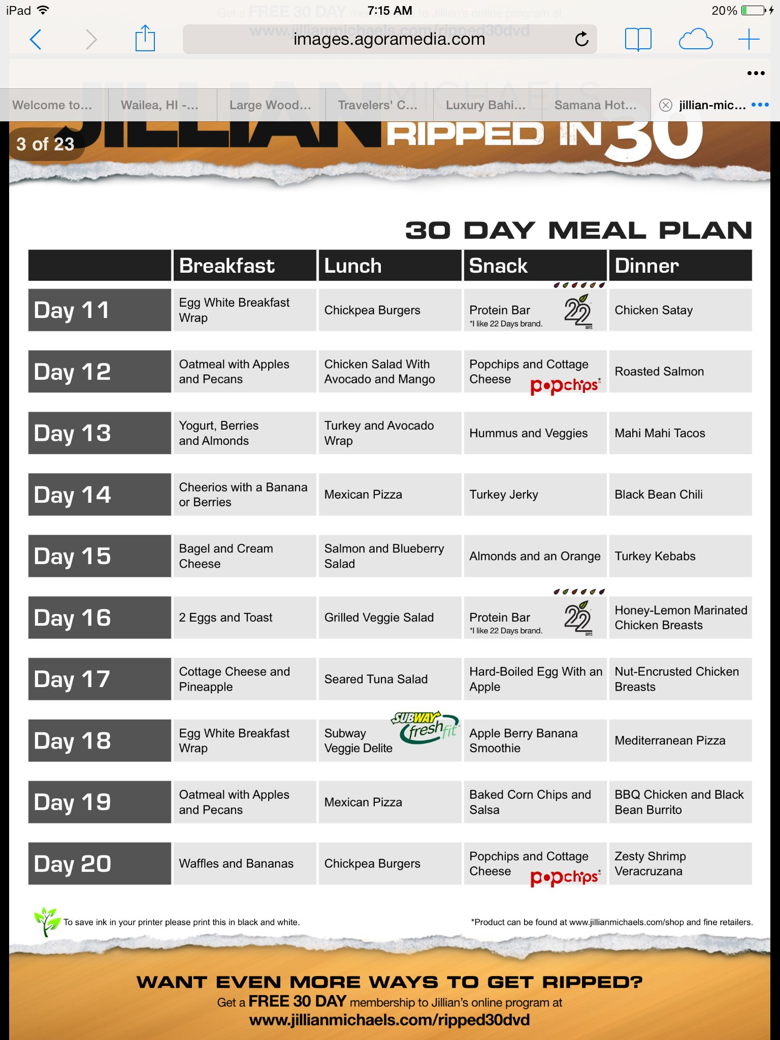 Pin On Jm 30 Day Shred