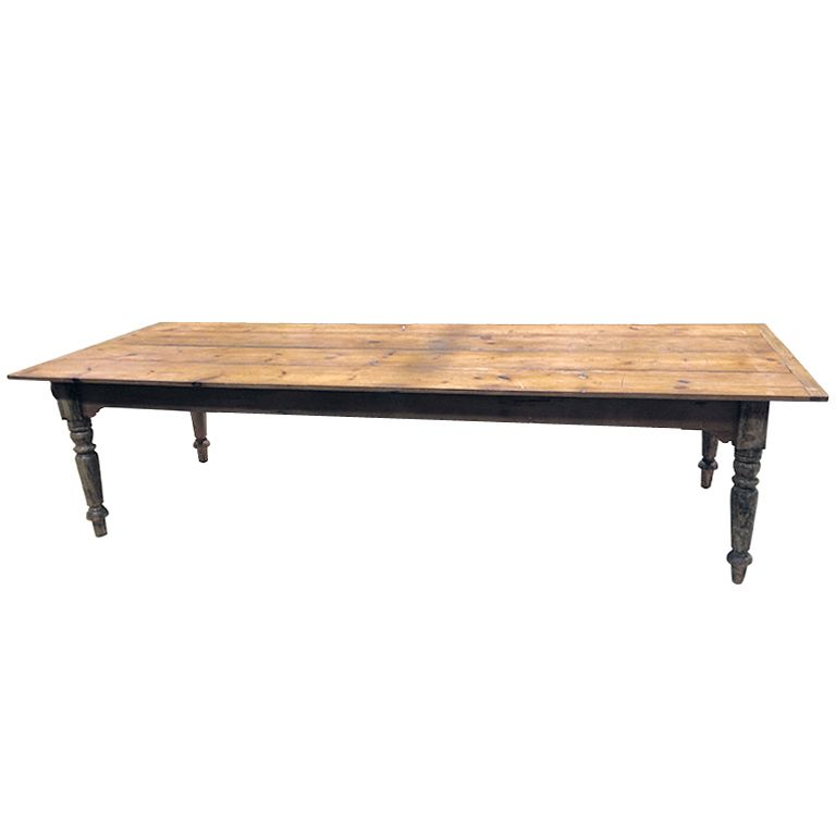 Pine Dining Or Harvest Table