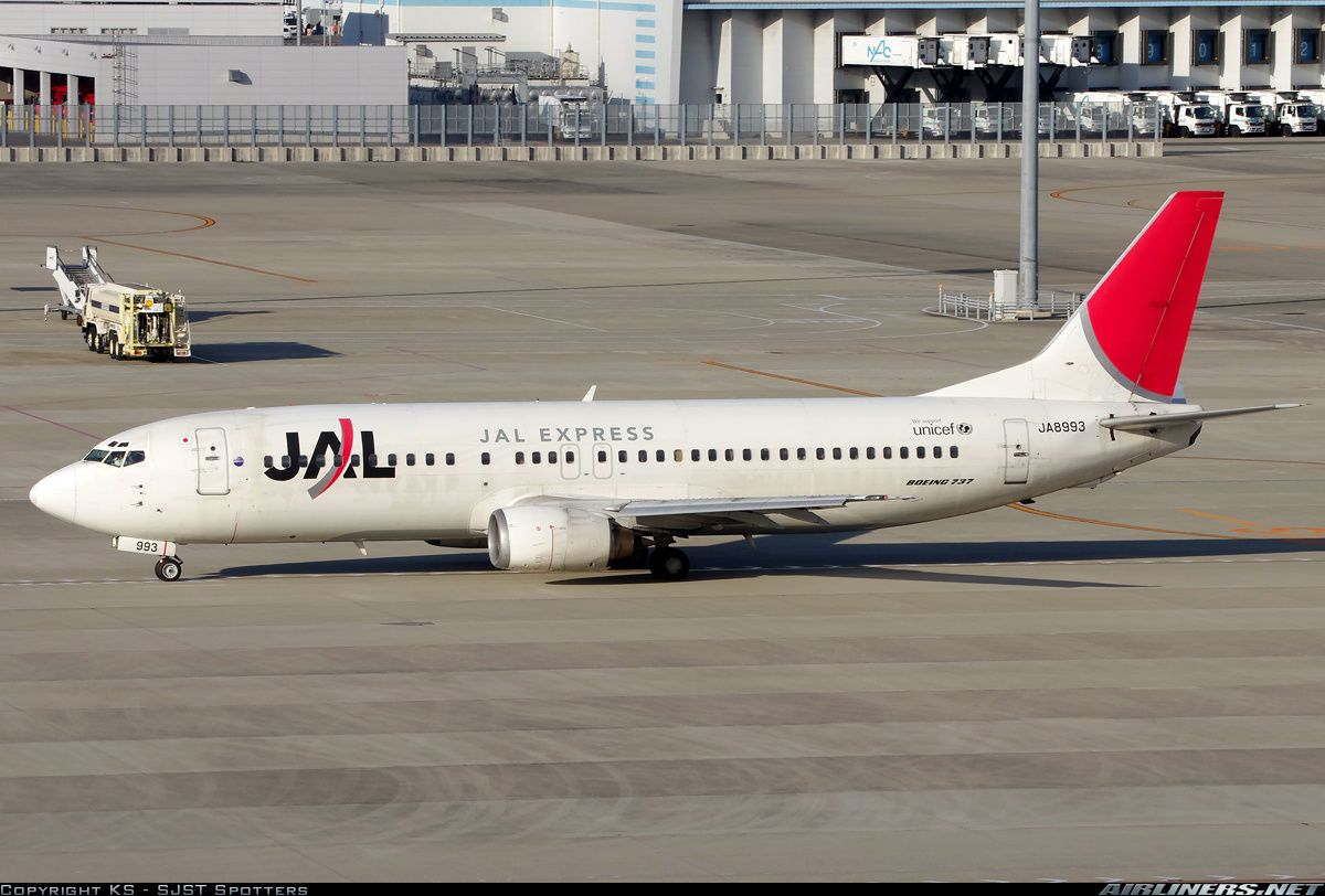 Boeing 737-446 aircraft picture