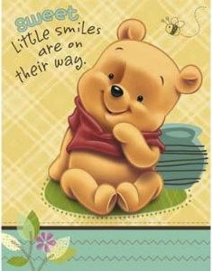 baby pooh baby shower invitation