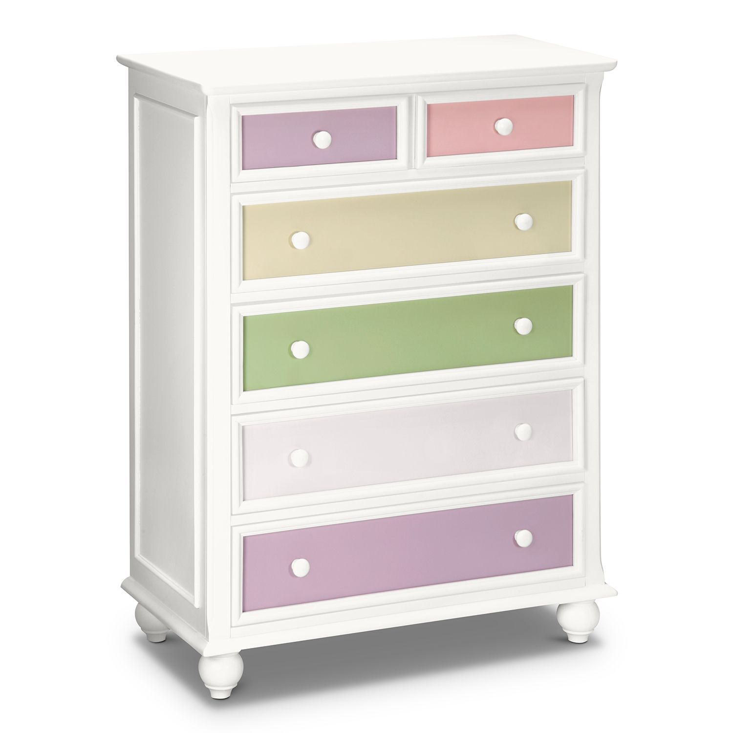 Colorworks Chest | White kids furniture, Value city ...