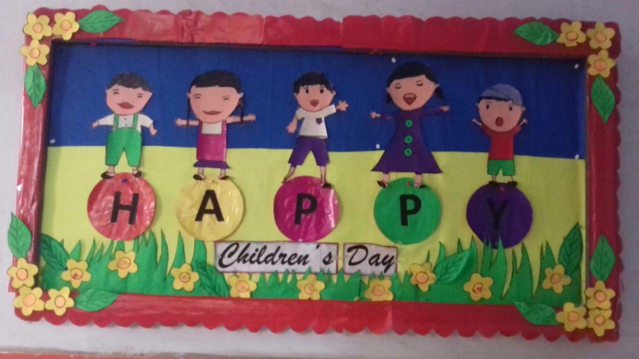 Children Day Celebration School Board Decoration Board Decoration