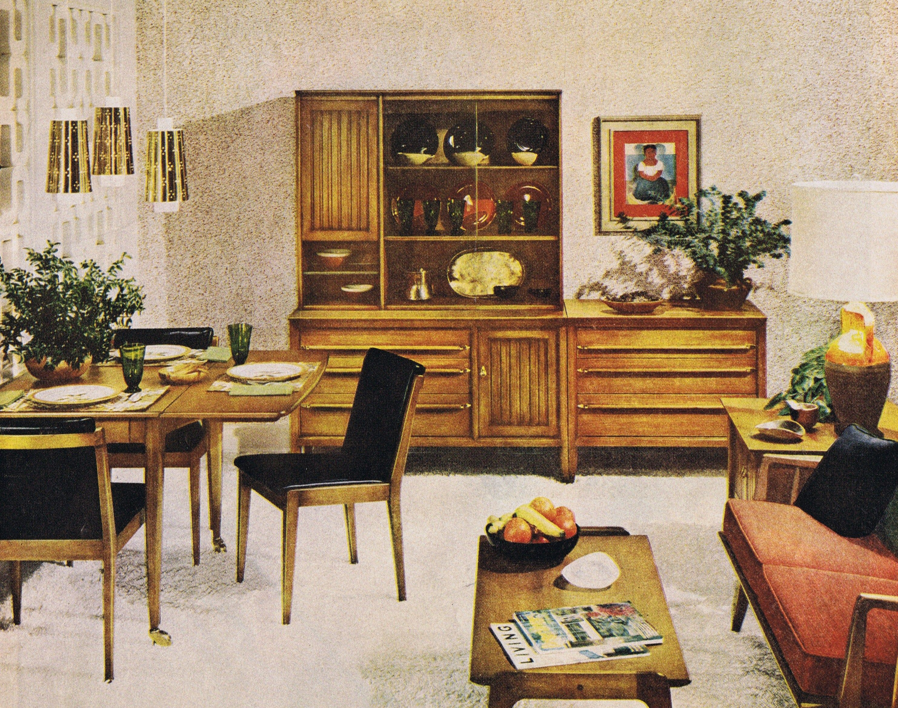 Modern Furniture Ads mid century modern furniture suite - impactwillett 1959 | mid