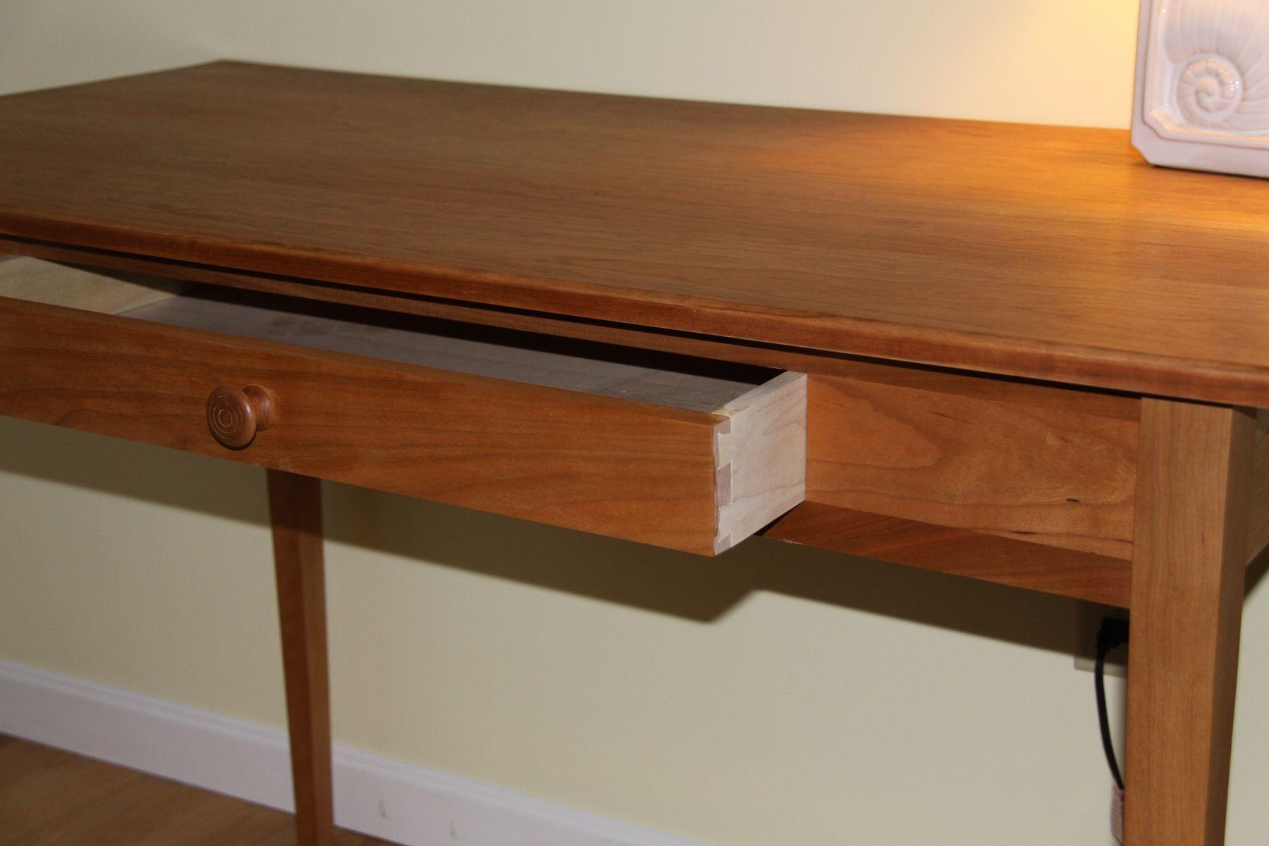 Custom made simple shaker desk