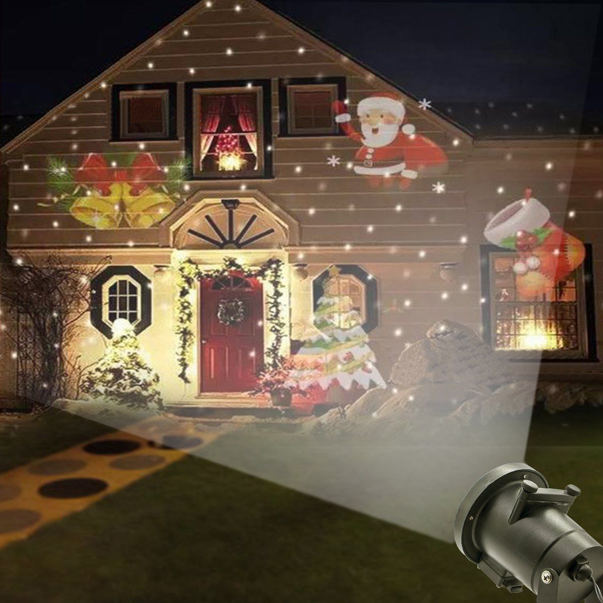 Riipoo LED Projector Lights Christmas Halloween Projector