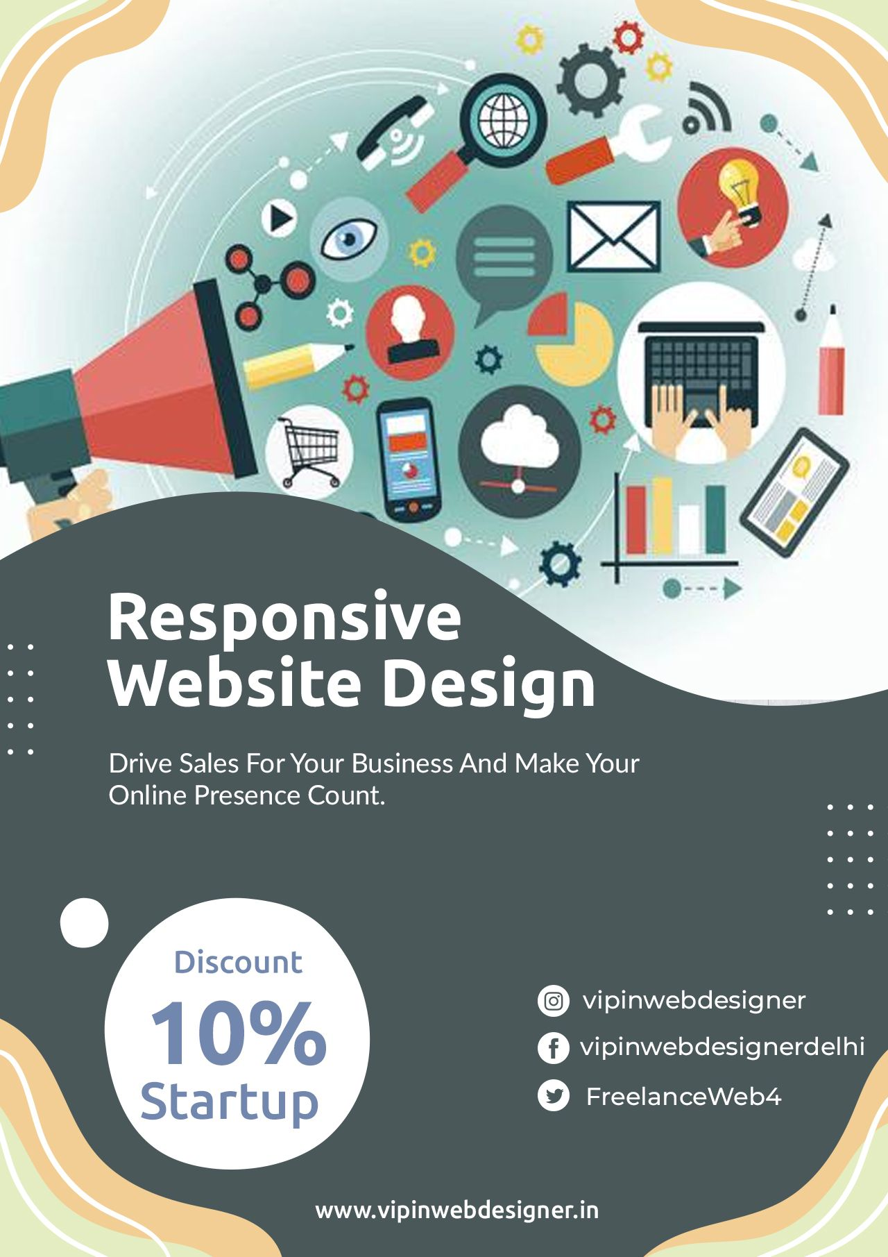 Get All You Need To Start Online A Website Domain Name Professional Email More It S Powerful And In 2020 Responsive Website Design Website Design Learn To Code