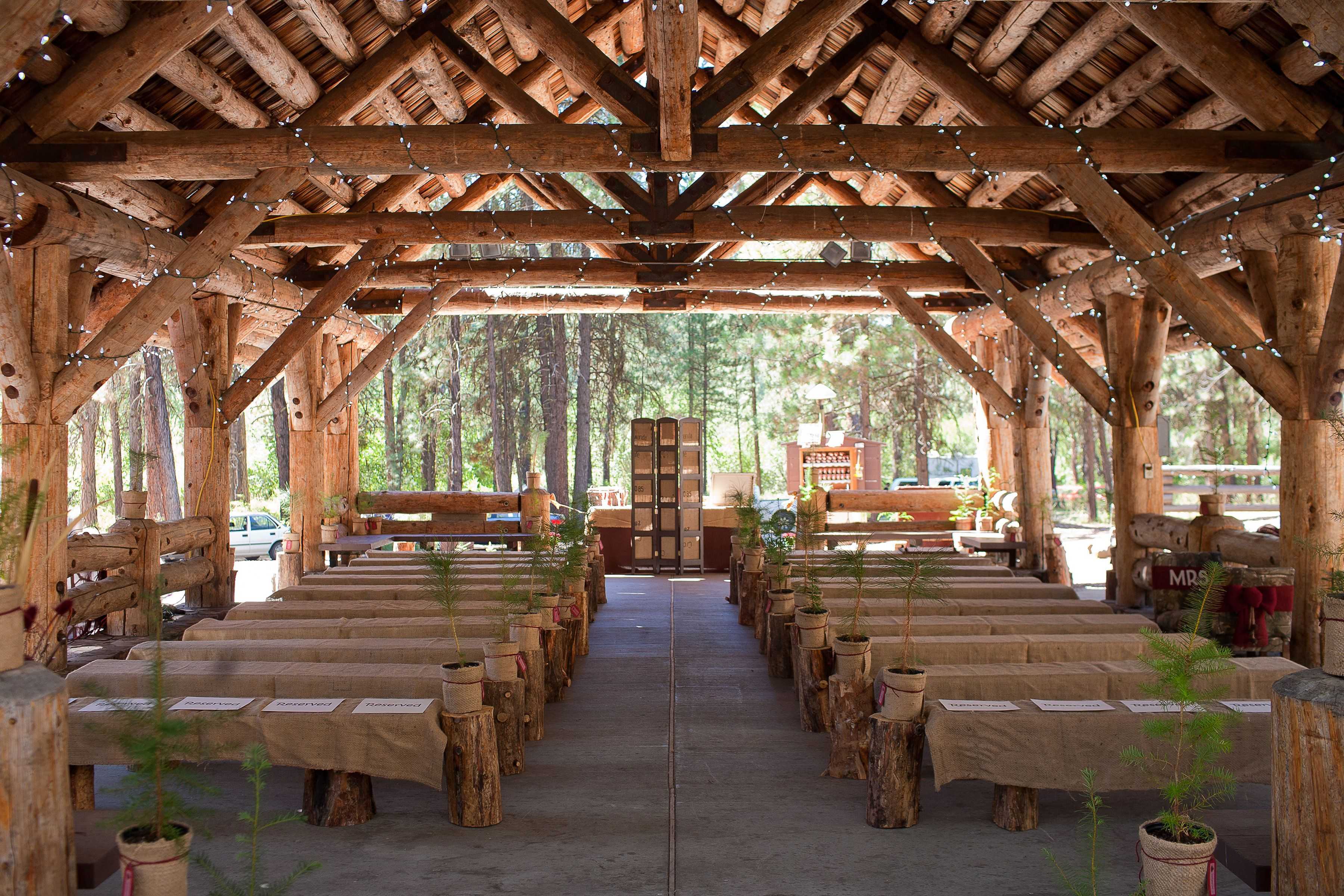pine forest/timber tops camp wedding Yahoo Image Search
