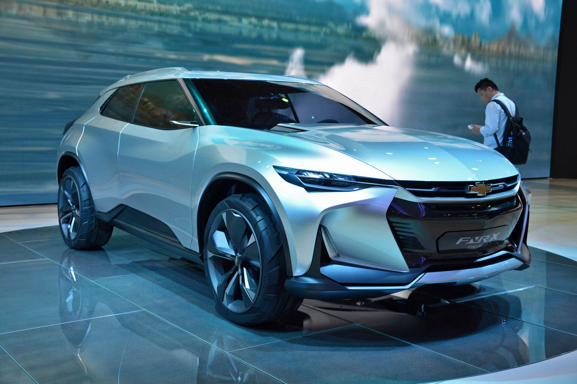 Chevrolet Fnr X Plug In Hybrid Crossover Concept Debuts In