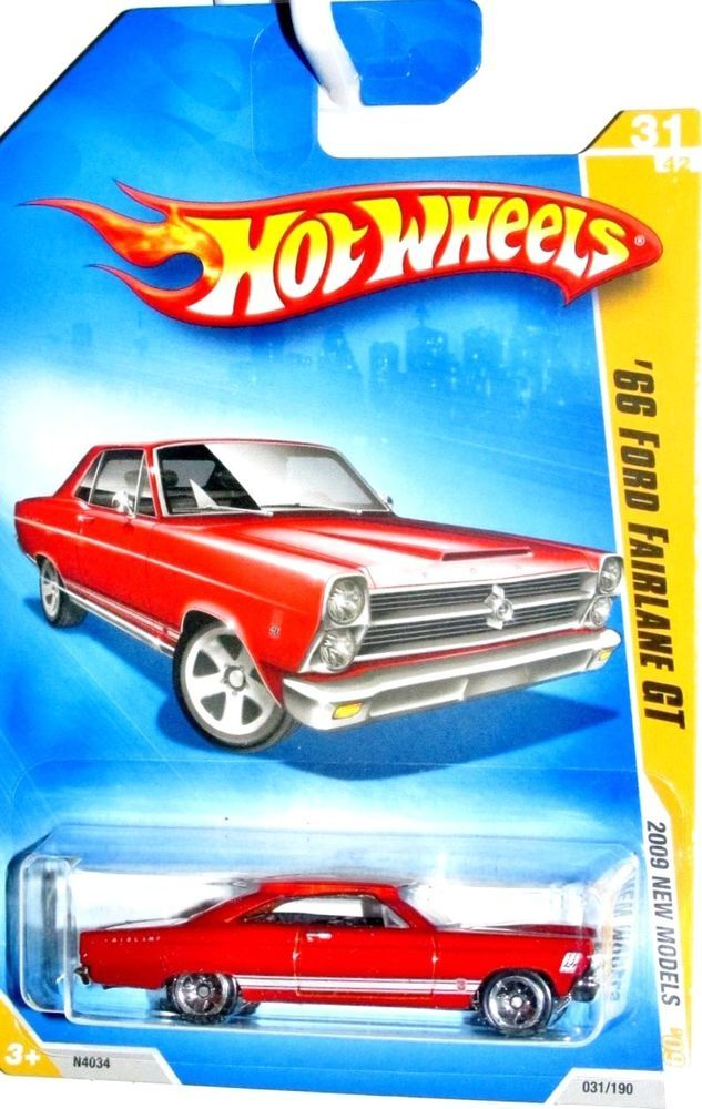 1966 Ford Fairlane Gt 2009 Hot Wheels New Models 31 42 Red Hotwheels Ford Hot Wheels Hot Wheels Cars Fairlane