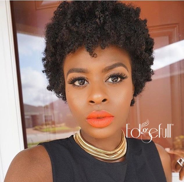 Shop Edgefull.com Do you have beautiful natural hair but thinning edges? Shop our natural and affordable protein concealer to hide your problem areas instantly and regain your confidence!!!