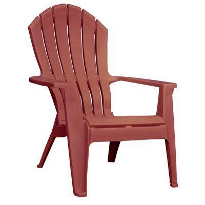 Realcomfort Adirondack Chair Ergonomic Resin Merlot