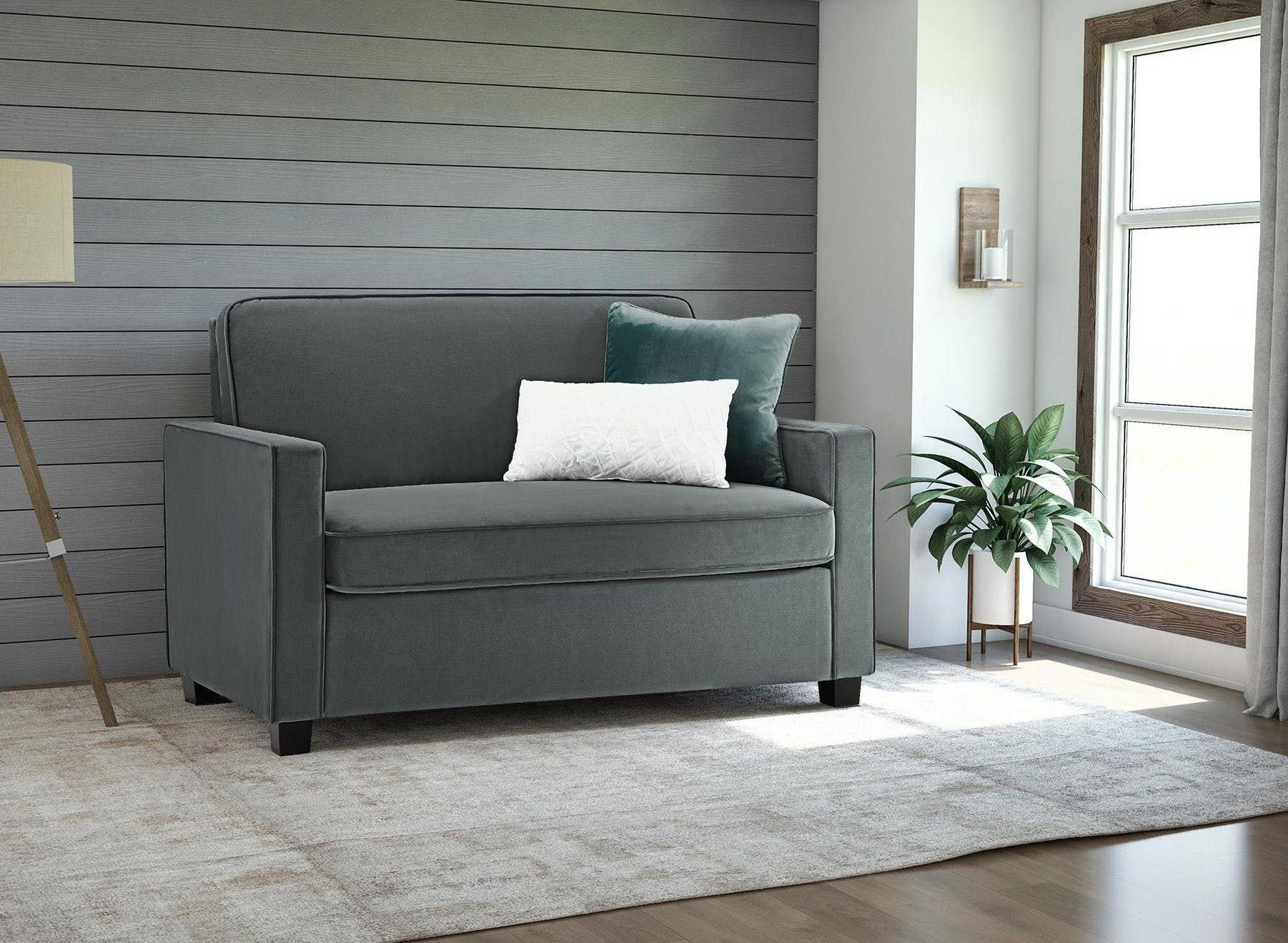 Loveseats For Small Spaces The Best Sleeper Sofas For Small Spaces Basement Ideas