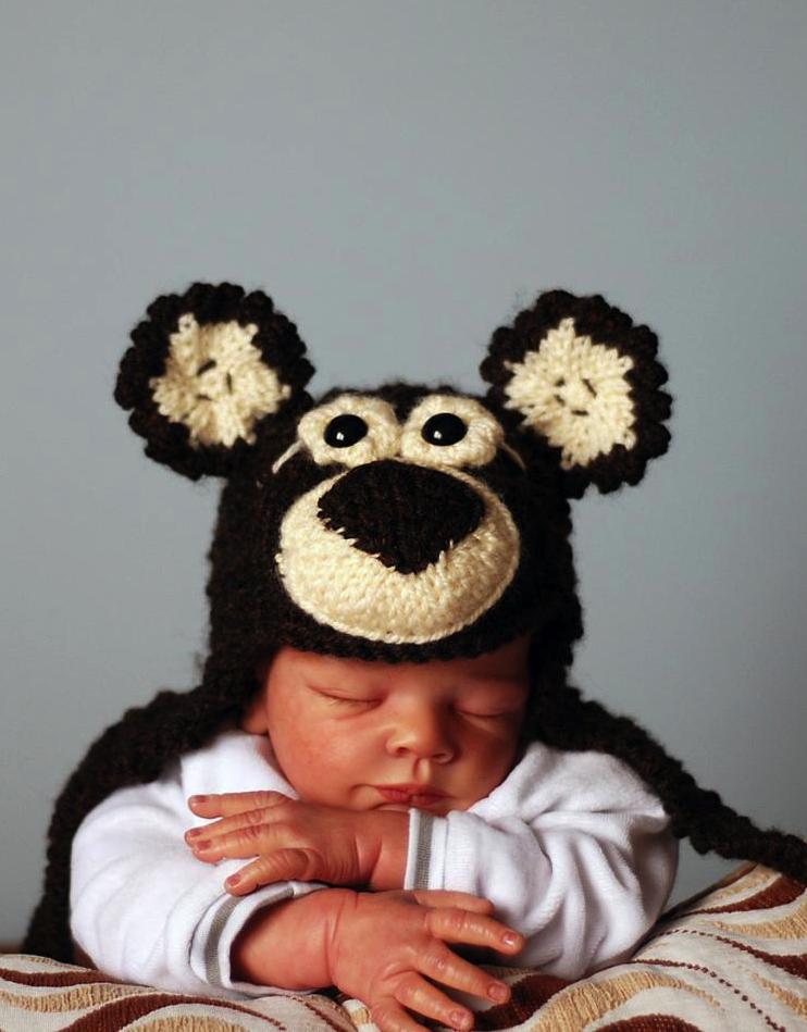 Baby Bear Hat Knitting Pattern Crochet Weird Pinterest