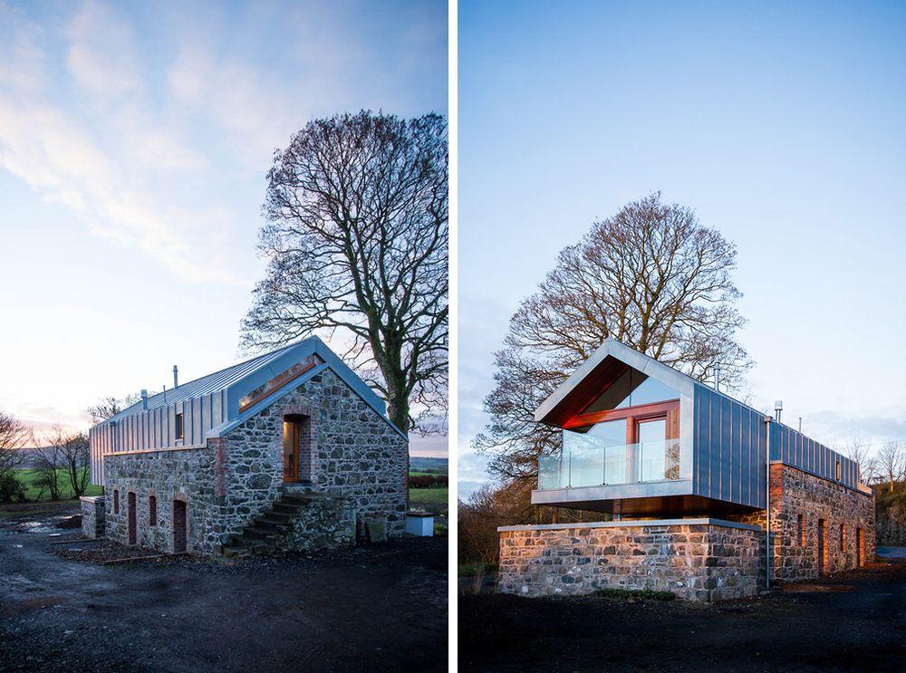 renovated barn loughloughan barn broughshane northern ireland