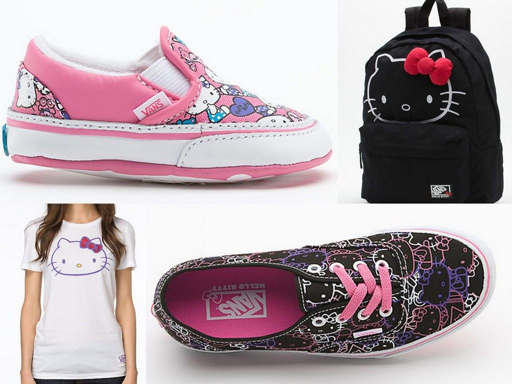 a0d1b329a9 Say Hello to the New Vans x Hello Kitty Collection