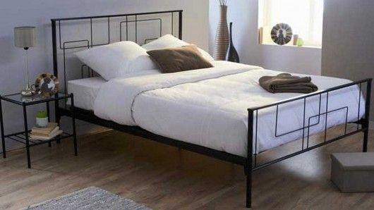 Las camas de metal o forja, dan a tu habitación un estilo propio ...