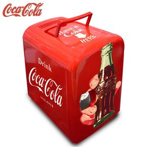 Mini Geladeira Take a Coke Vermelho