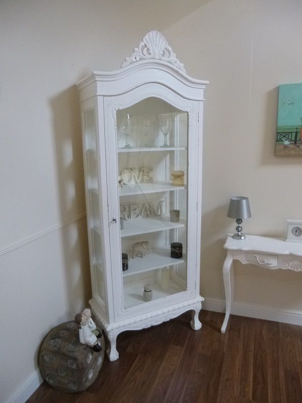 Handmade French Shabby Chic Display Cabinet Display Cabinets