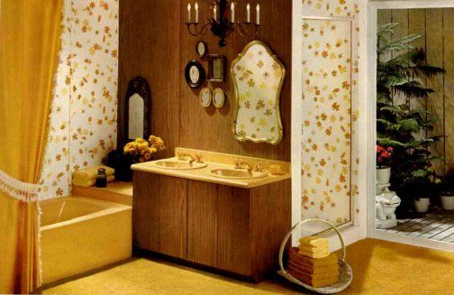 6 Interiors With Great Ideas From The Late 1960s Retro Home Decor Retro Bathrooms Retro Home