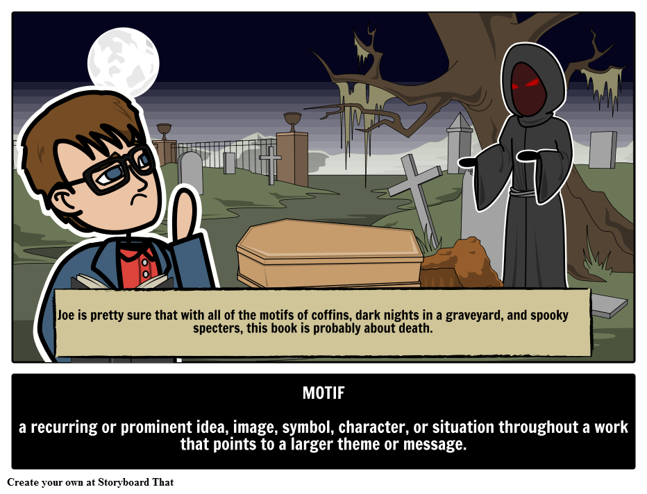 Define Motif Find Our Illustrated Literary Terms Guide With