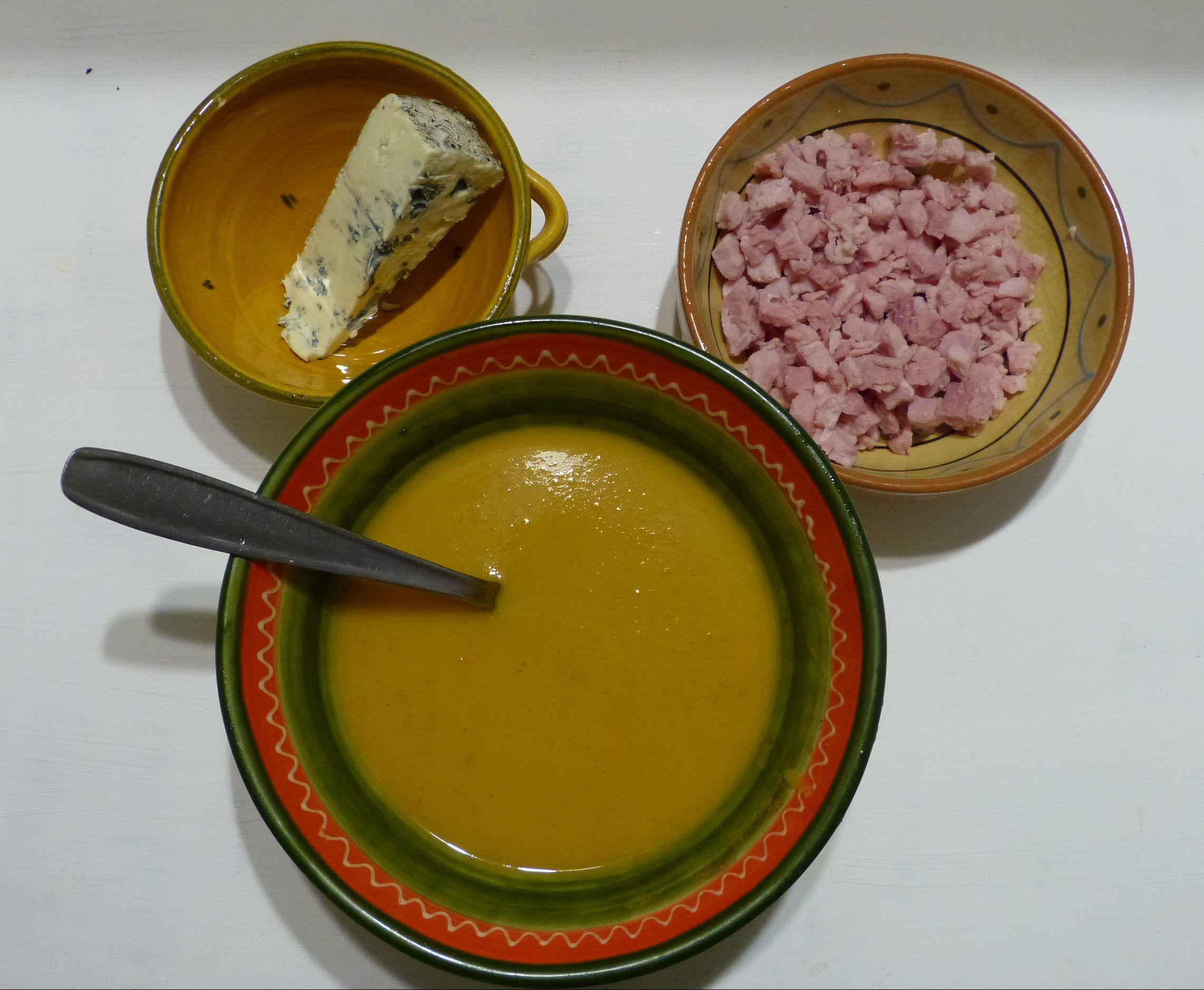 Velouté aux pommes, butternut et cannelle