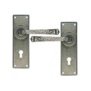 Anvil 33700 Pewter Avon Lever Lock Door Handles Lever Door Handles Door Furniture Door Handles