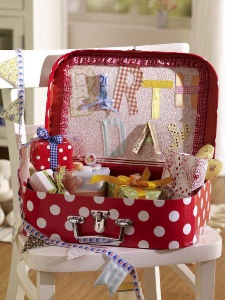 Hochzeitsgeschenke basteln koffer