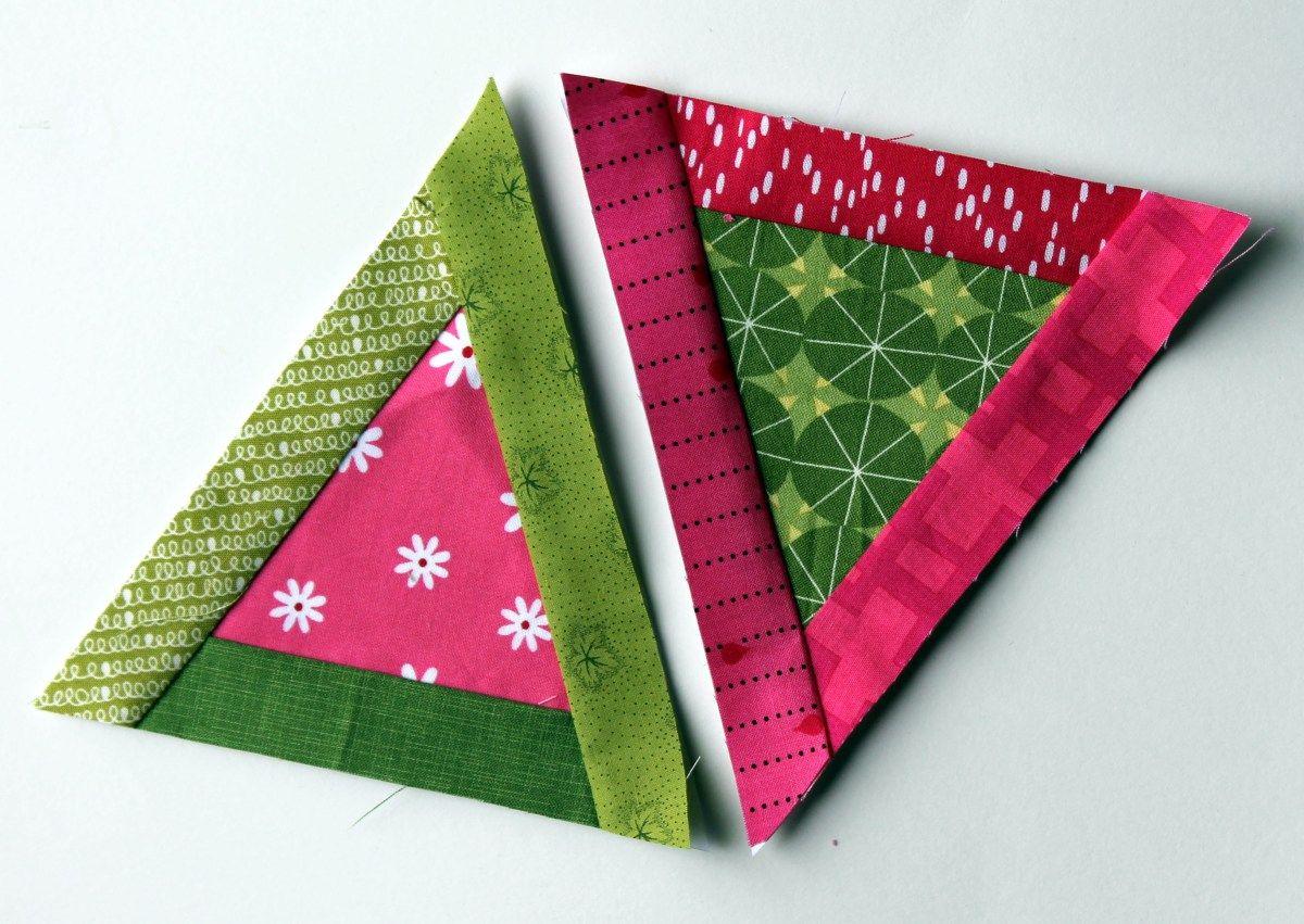 triangle quilt blocks   Blocks   Pinterest