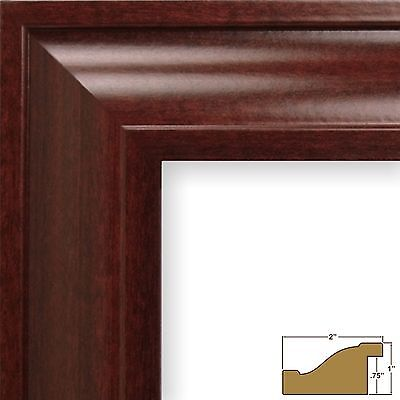 Nice Craig Frames Contemporary Upscale 2 Mahogany Red Picture Frame