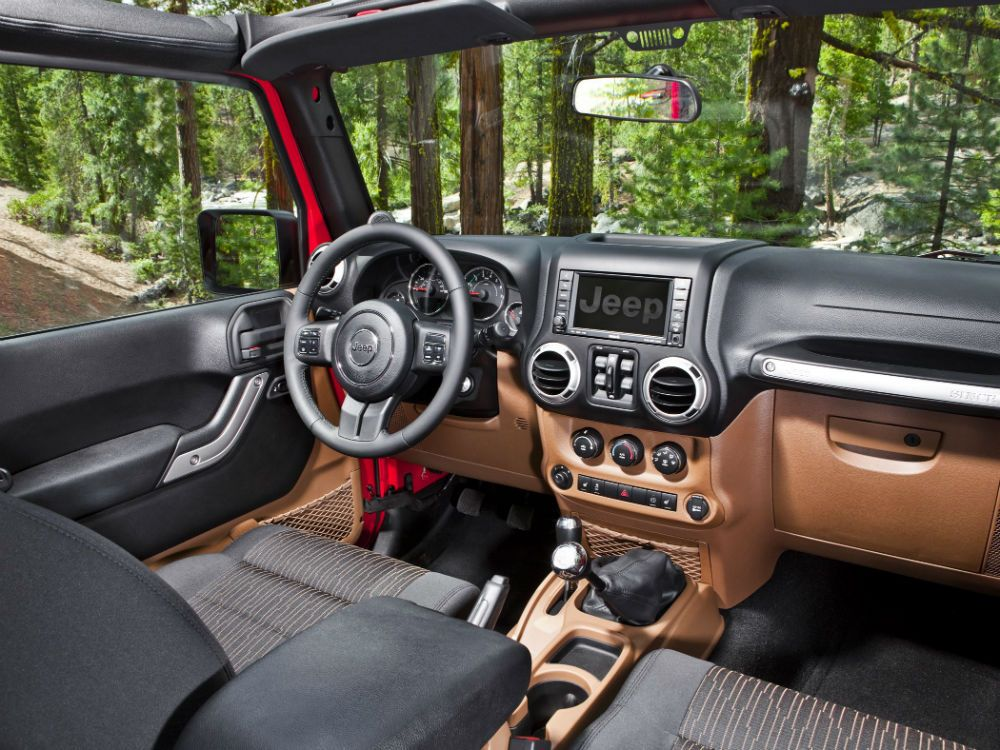 2013 Jeep Wrangler Unlimited Sport Interior Jeep Wrangler