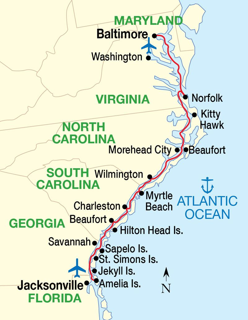 Riverloriancom Intracoastal Waterway Waterways MidAmerica Freight - Us east coast ports map