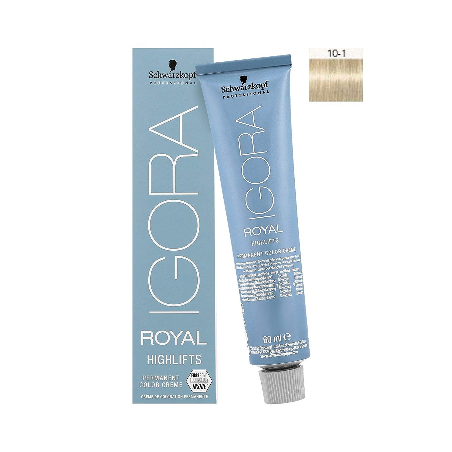 Schwarzkopf Igora Royal Highlifts 10 1 Blonde Platinum Ash Hair Color 60ml Want Additional Info Click On The Image Thi Ash Hair Ash Hair Color Hair Color