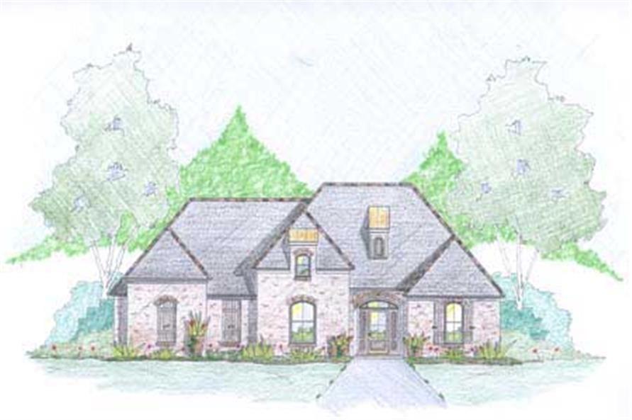 House European Houseplans Home Design 131 1010