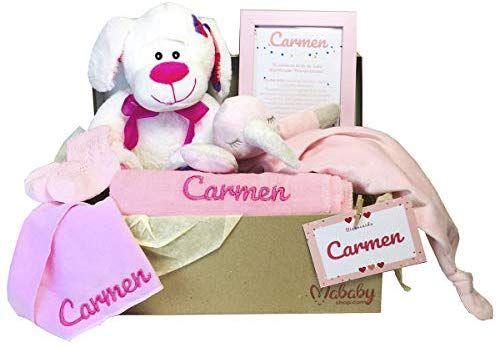 Regalos Bebe Personalizados Amazon.Mabybox Bear And Socks Canastilla Bebe Regalo Babyshower