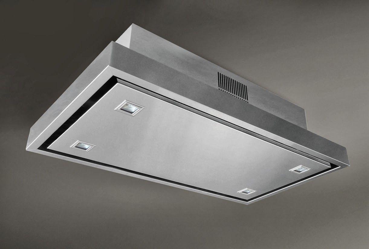 flush mount kitchen ceiling exhaust
