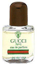 Gucci Parfum No1 By Gucci For Women 025 Oz Parfum Miniature