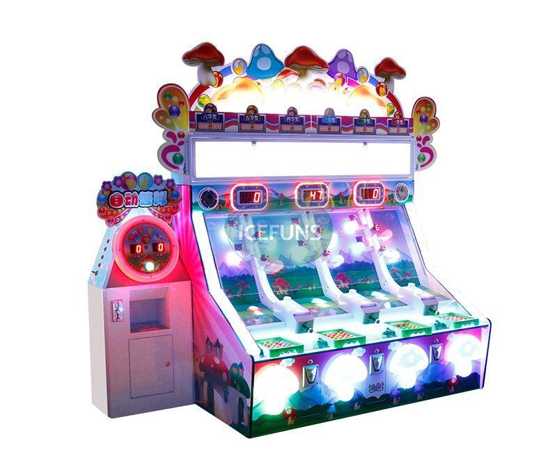 mushroompinballgamemachine it is suitable for kids center