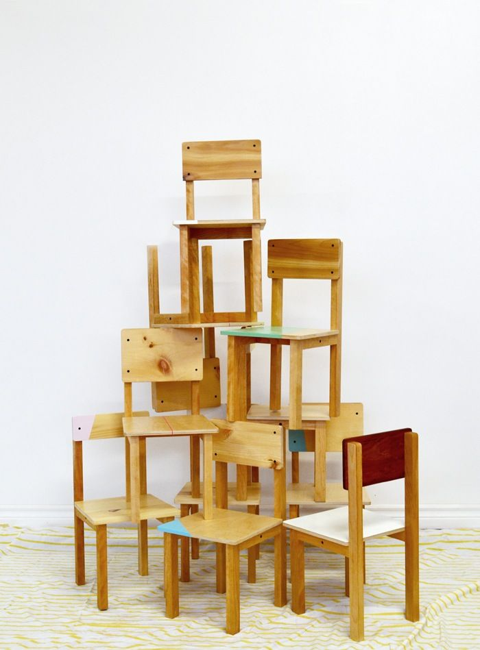 Handmade Kids Furniture From Objets Mecaniques In Montreal Handmade Kids Furniture Childrens Wooden Furniture Kids Chairs