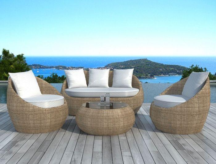 Stunning Salon De Jardin Resine Tressee Osier Images - Amazing ...