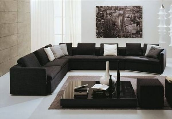 salas muebles negro con rojo - Buscar con Google   H O M E ...