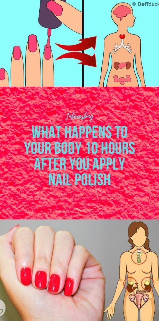 Photo of What Happens to Your Body 10 Hours After You Apply Nail Polish