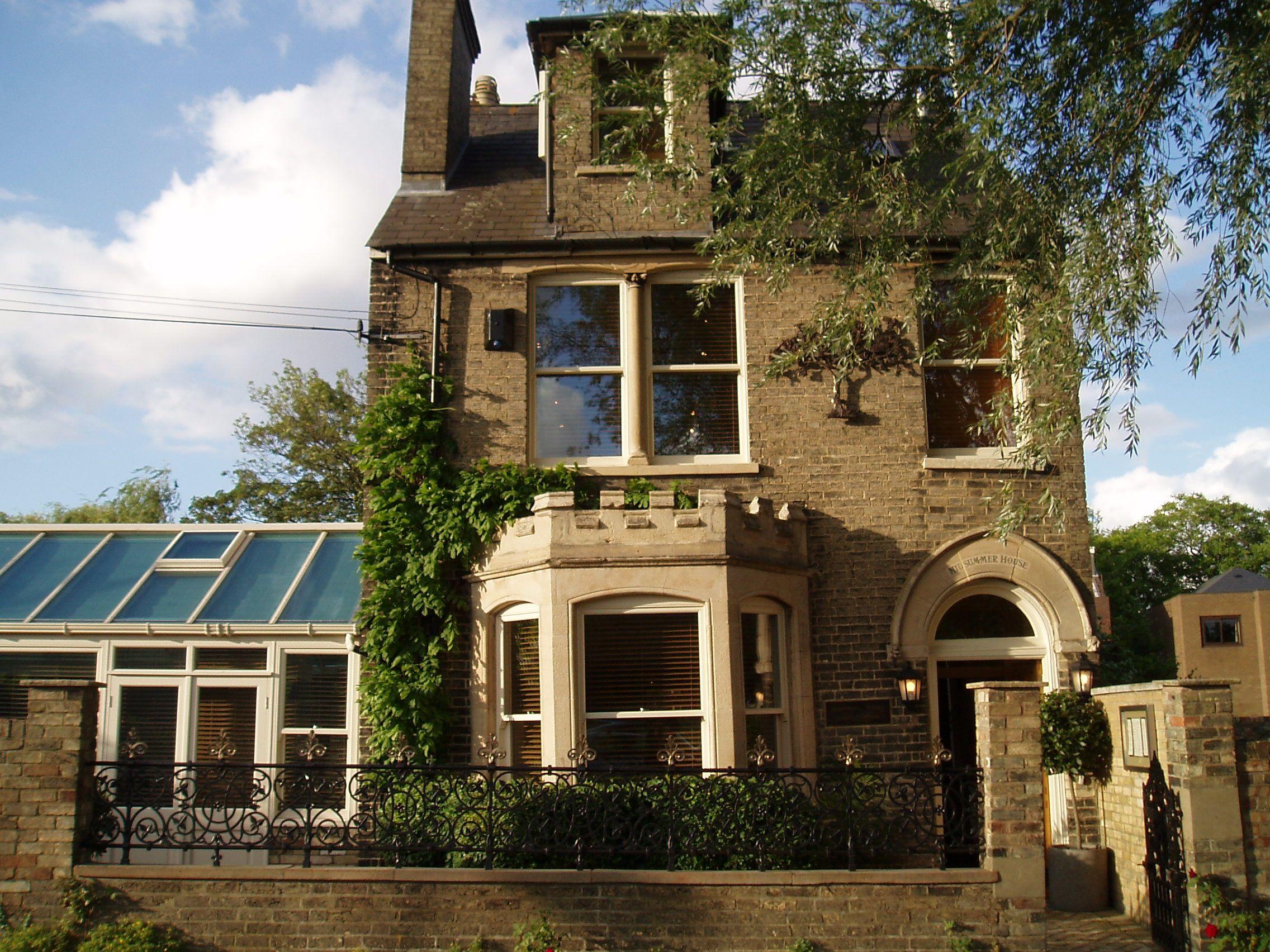 Midsummer House Restaurant Cambridge england and ireland | england, cambridge uk, house restaurant
