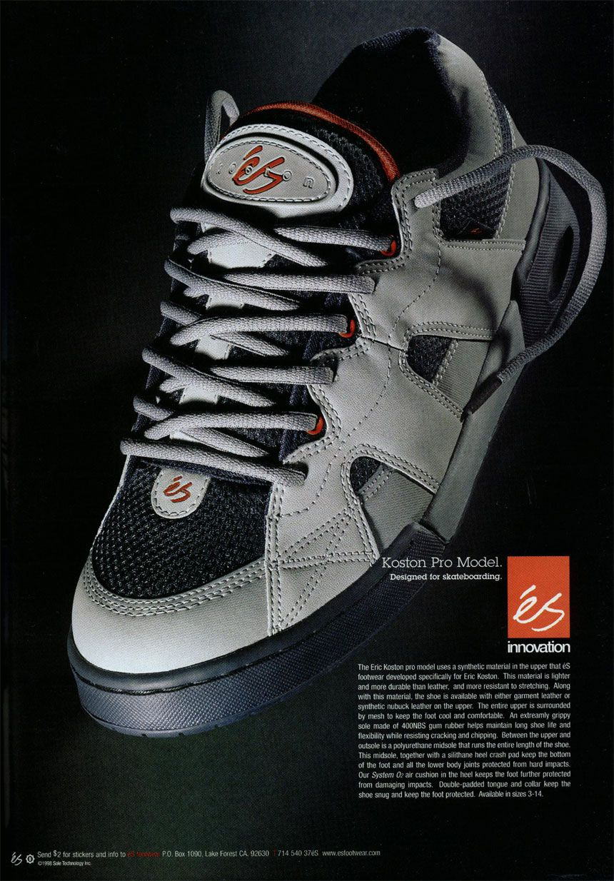 86a2ef9fbf4ea2 ES Koston 1 best skate shoe