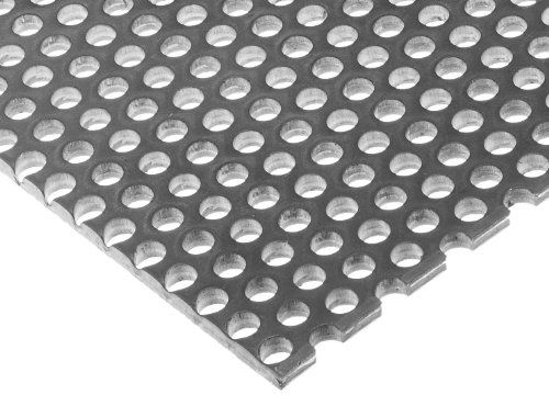 A36 Steel Perforated Sheet Unpolished Mill Finish Hot Rolled Staggered 0 5 Holes Astm A36 0 12 Thickness 11 Gauge 12 Perforated Sheet It Is Finished