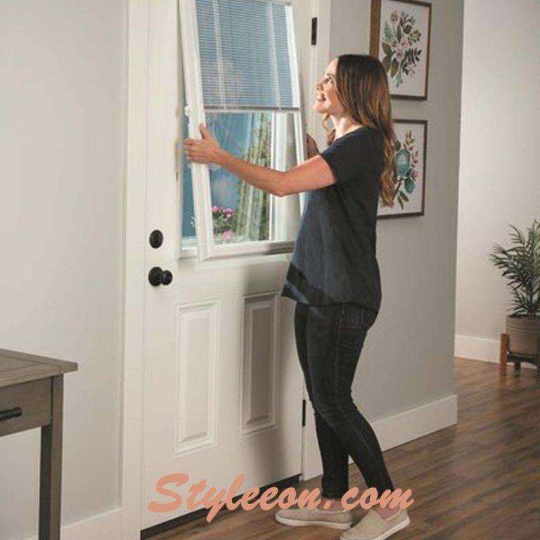 How To Cover Glass Doors For Privacy Concern Styleeon Glass Door Door Coverings Doors