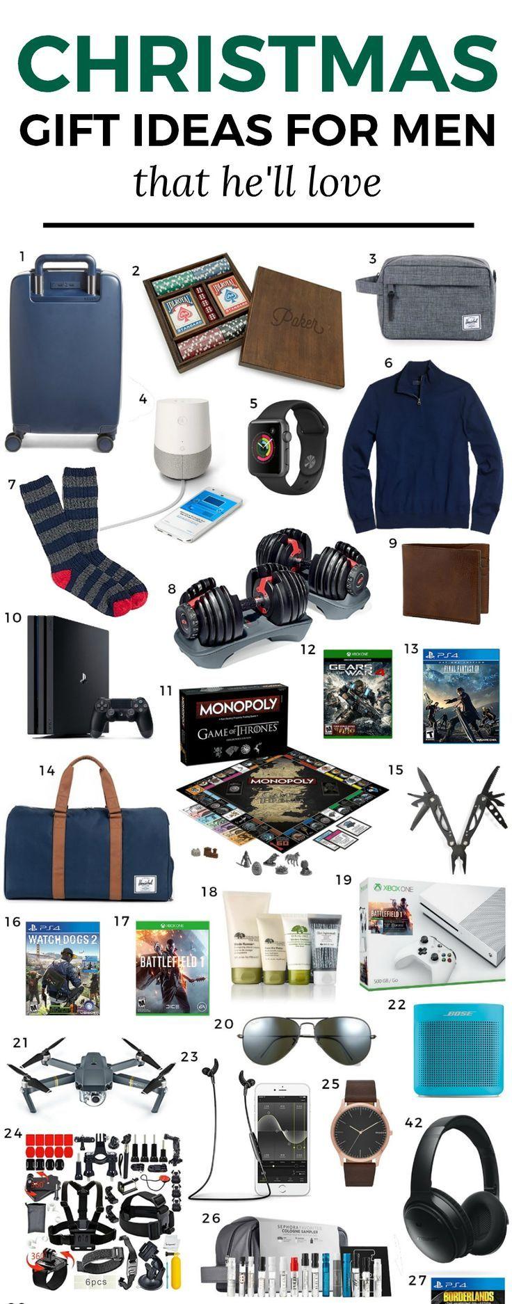 The Best Christmas Gift Ideas for Men | Pinterest | Ashley brooke ...