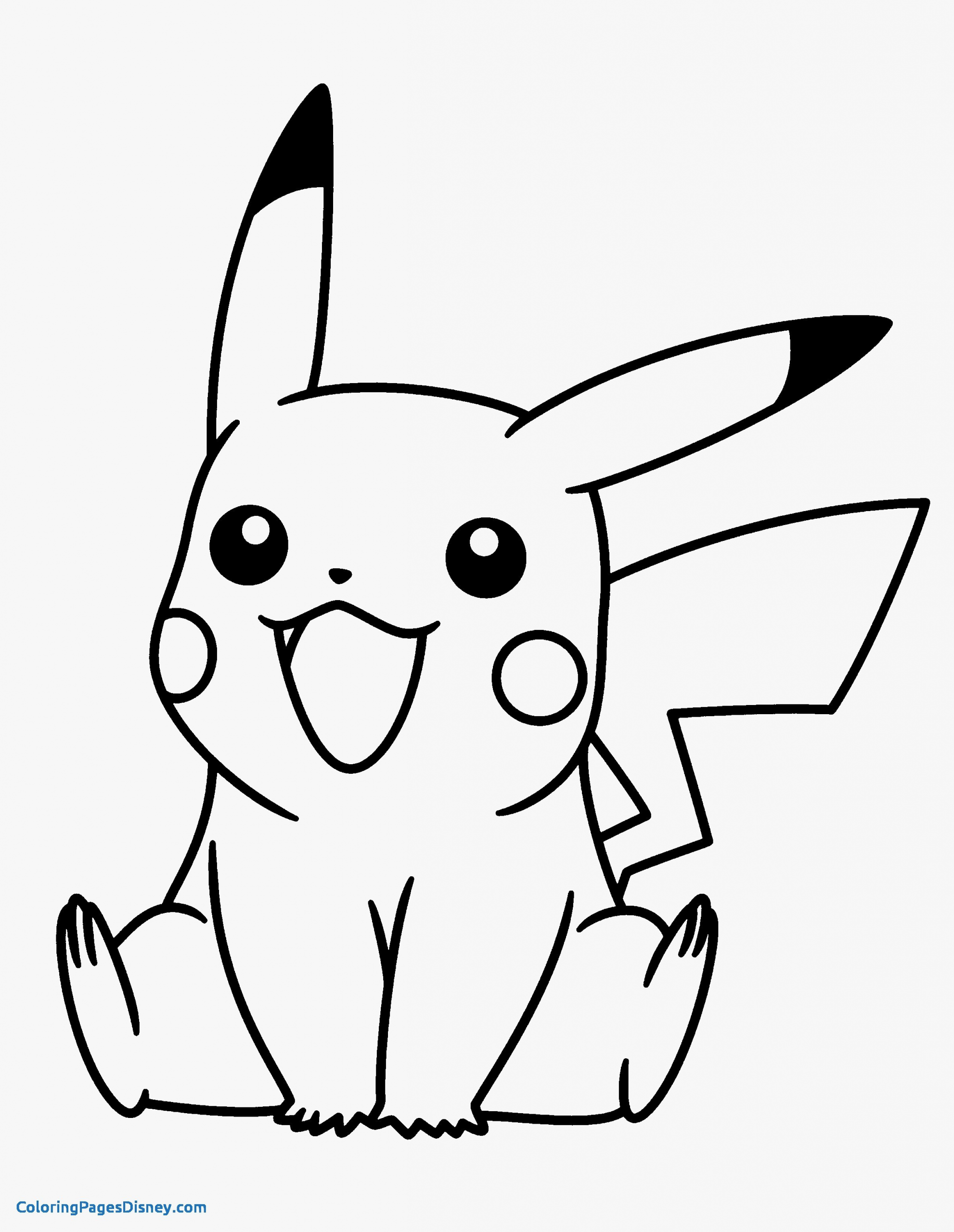 Pokemon Coloring Page Pikachu Youngandtae Com Pikachu Coloring Page Kitty Coloring Pokemon Coloring Pages