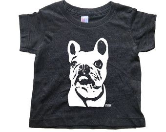 French Bulldog Baby T Shirt Frenchie Clothing