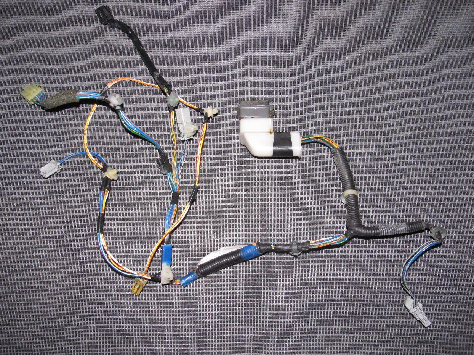 96 97 98 99 00 honda civic oem door wiring harness right rh pinterest com